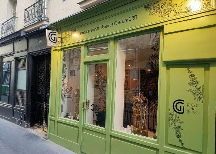 Boutique Great & Green - Paris