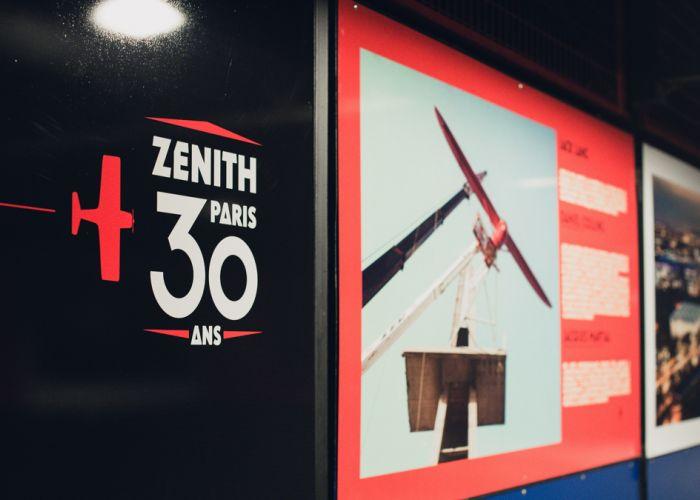 exposition 30 ans Zénith Paris La Villette