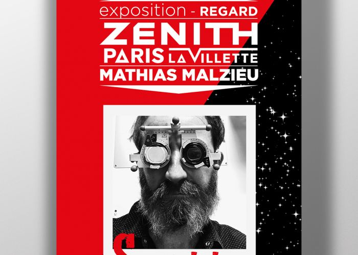 Exposition Regard - Mathias Malzieu - Zénith Paris la Villette