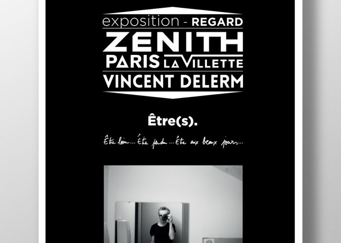 Exposition Regard - Vincent Delerm - Zénith Paris la Villette