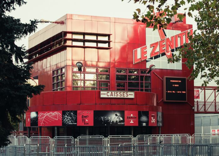 Habillage Folie Zénith Paris La Villette 30 ans