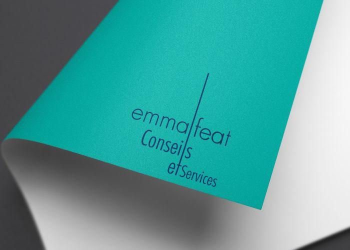 Identité visuelle Emma Feat